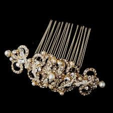 hair brooch comb 13088 g wedding hair flowers