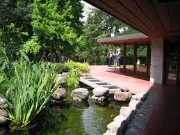 Frank Lloyd Wright Home Decor Frank Lloyd Wright Gardens View Of The Japanese Garden And Koi
