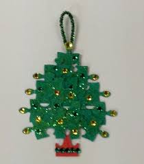 make ornaments from recycled