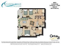 Breeze House Floor Plan Atlantic Breeze Resort Floorplans