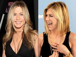 cut and inch off hair hair today gone tomorrow jennifer aniston debuts chic bob ny