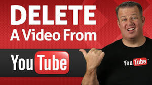 how to delete a video from youtube youtube