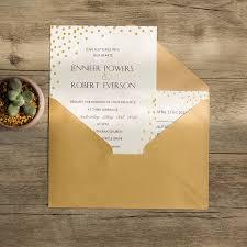 polka dot wedding invitations classic foiled polka dot invitations ewfi006 as low as 1 29