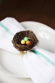 easter napkin rings 8 easy diy easter napkin rings to make shelterness