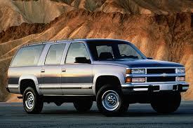 1995 Suburban Interior 1992 99 Chevrolet Suburban Consumer Guide Auto