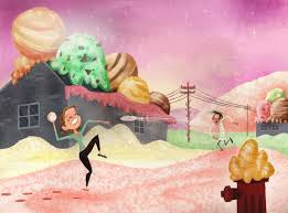 2013 cloudy with a chance of meatballs 2 movie wallpapers image flintsamconceptart jpg cloudy with a chance of meatballs