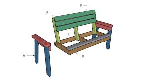 how to make a wooden garden bench how to build a 2x4 garden bench howtospecialist how to build