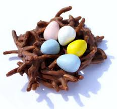 dinner time ideas chocolate birds nests by thanksgiving point