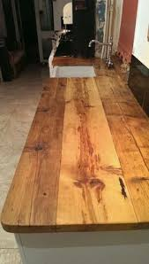 Diy Wood Kitchen Countertops by Super Cheap Wood Countertop Around 25 In Supplies For Laundry
