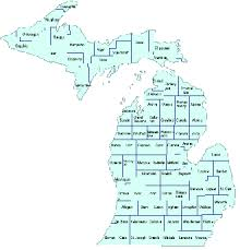 map of michigan michigan maps