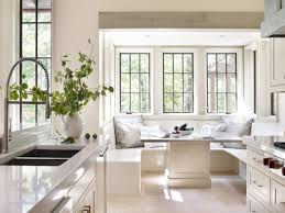 Bay Window Seat Kitchen Table by Marino Residence Birmingham Alabama By Jeffrey Dungan