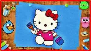 hello kitty coloring book coloring pages for kids with hello