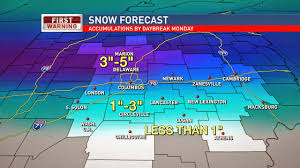 Snowfall Totals Map Stuck In The Buckosphere January 2015