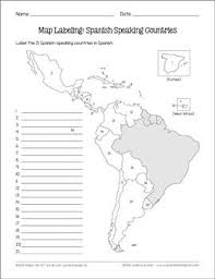 spanish speaking countries and capitals maps and quiz spanish