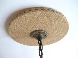 Burlap Chandelier Make A Chandelier Canopy