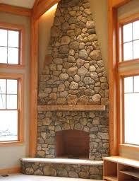 fireplace facade stone great stone around fireplace on interior