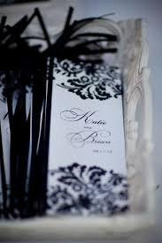 mariage baroque mariage baroque noir et blanc damask tendance boutik