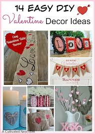 14 easy diy valentine u0027s day decoration ideas