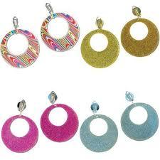 sixties earrings 60s fancy dress earrings ebay