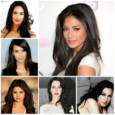 6 celebrities with dark hair colors irs fashion