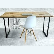 Rustic Wood Office Desk Distressed Wood Desk Wooden Office Desk Distressed Wood Office