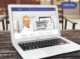 company portfolio website template psd download download psd