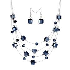 aliexpress necklace set images Buy necklace set royal blue and get free shipping on jpg