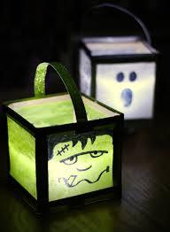 the craft patch diy halloween luminaries