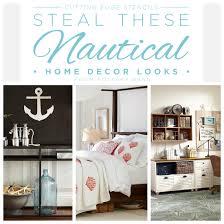 diy nautical home decor steal these nautical home decor looks stencil stories stencil stories