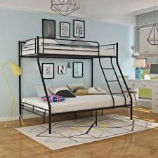 3 Person Bunk Bed New Sleeper Bunk Bed Metal Single 3 Person Bed With
