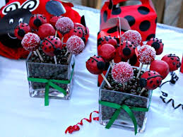 ladybug cake pops ladybug party from birthday express party tips clever