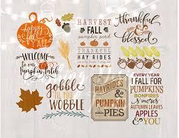 digital fall svg bundle happy fall yall svg autumn svg