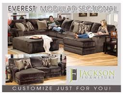 Modular Sectional Sofa Pieces Everest Fully Modular Sectional By Jackson Build Your Personal