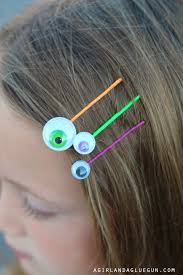 Googly Eye Bobby Pins A And A Glue Gun