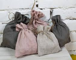 linen favor bags linen favor bag etsy