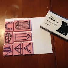 a last minute gift diy stamp kit u0026amp gift tags u2014 blueprints for