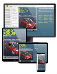 ford focus 12 14 haynes online manual haynes manuals