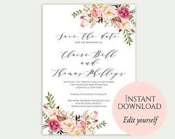 save the date template save the date cards printable save