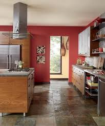 color of the month june 2014 cayenne kitchen cabinetry behr