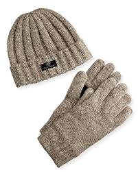 ugg gloves sale us ugg s hat and glove box set in for lyst