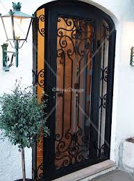 security front door for home best 25 wrought iron decor ideas on pinterest iron wall decor