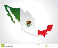Map Mexico Map Mexico 3d Stock Vector Illustration Of Emblem Background