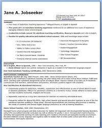 Substitute Teacher Resume Examples by 13 Best Resume Images On Pinterest Resume Ideas Resume