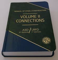 manual of steel construction volume ii connections 9th edition