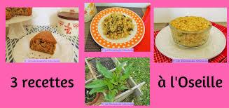 3 recettes de cuisine 3 recettes à l oseille recettes à la une recettes saines et