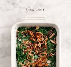 coconut creamed spinach recipe and lemons