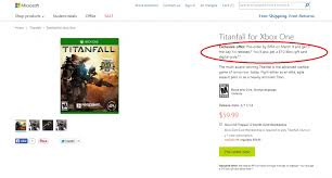 xbox 360 gift card microsoft store offering 10 xbox gift card with titanfall pre