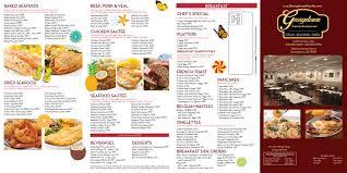 menu georgetown family restaurant