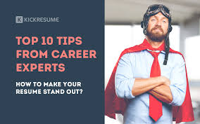 Top 10 Resume Tips Resume Tips Archives Kickresume