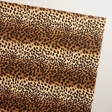 leopard wrapping paper leopard print wrapping paper roll world market